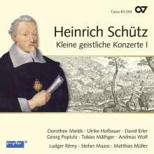 Heinrich Schütz (1585-1672): Kleine Geistliche Konzerte I (Carus Schütz-Edition Vol. 7), CD