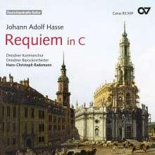 Johann Adolph Hasse (1699-1783): Requiem C-Dur, CD