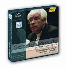 Helmuth Rilling - Gesprächskonzerte, 4 CDs