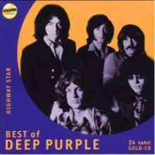 Deep Purple: Highway Star - Best Of Deep Purple (24 Karat Gold-CD), CD