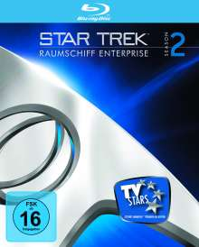 Star Trek Raumschiff Enterprise Staffel 2 (Blu-ray), 7 Blu-ray Discs