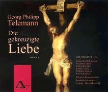 """Georg Philipp Telemann (1681-1767): Passionsoratorium """"Die gekreuzigte Liebe"""", 2 CDs"""
