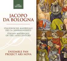 Jacopo da Bologna (14.Jh.): Madrigale, CD