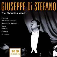 Giuseppe di Stefano - The Charming Voice, 10 CDs