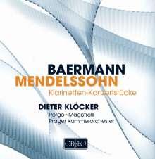 Karl Baermann (1810-1885): Konzertstücke für 2 Klarinetten & Orchester, CD