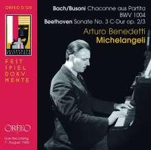 Arturo Benedetti Michelangeli - Salzburger Festspiele 7. August 1965, CD