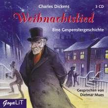 Charles Dickens:Ein Weihnachtslied, 3 CDs