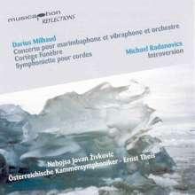 Darius Milhaud (1892-1974): Konzert für Marimba,Vibraphon & Orchester, CD