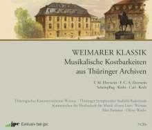 Weimarer Klassik - Musikalische Kostbarkeiten aus Thüringer Archiven