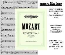 Mozart:Hornkonzert Nr.4, CD