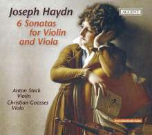 Joseph Haydn (1732-1809): Sonaten für Violine & Viola H6 Nr.1-6, CD