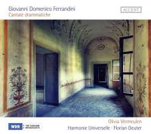 Giovanni Battista Ferrandini (1710-1791): Cantate drammatiche, CD
