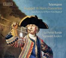 Georg Philipp Telemann (1681-1767): Trompeten- & Hornkonzerte, CD