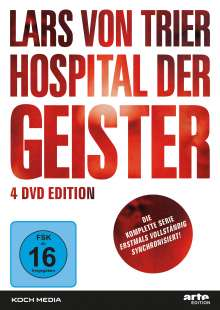 Hospital der Geister (Komplette Serie, erstmals komplett synchronisiert), 4 DVDs