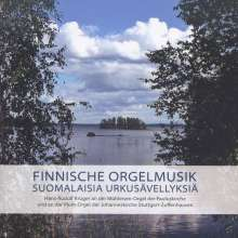 Hans-Rudolf Krüger - Finnische Orgelmusik, CD