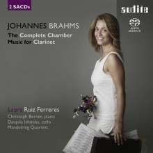 Johannes Brahms (1833-1897): Sonaten für Klarinette & Klavier op.120 Nr.1 & 2, 2 SACDs