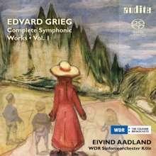 Edvard Grieg (1843-1907): Sämtliche Orchesterwerke Vol.1, SACD