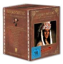 Gojko Mitic: Alle DEFA-Indianderfilme (Gesamtedition), 12 DVDs