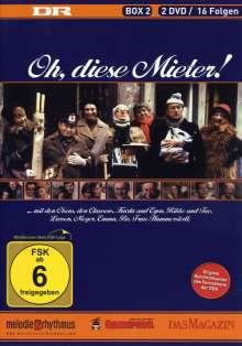 Oh, diese Mieter Season 2, 2 DVDs