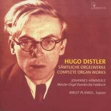 Hugo Distler (1908-1942): Sämtliche Orgelwerke, 2 CDs