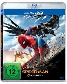 Spider-Man: Homecoming (3D & 2D Blu-ray), 2 Blu-ray Discs