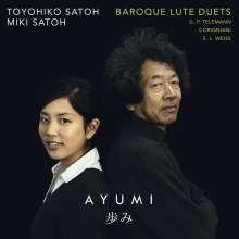 Musik für 2 Barocklauten, CD