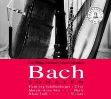 Hansjörg Schellenberger spielt JS & CPE Bach, CD