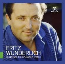 Fritz Wunderlich - Oper, Operette, Film (Unveröffentlichte Rundfunkaufnahmen), CD
