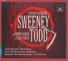 Stephen Sondheim (geb. 1930): Sweeny Todd - The Demon Barber of Fleet Street, 2 CDs