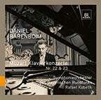 Wolfgang Amadeus Mozart (1756-1791): Klavierkonzerte Nr.22 & 23, CD