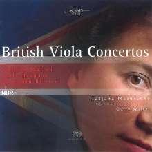 Tatjana Masurenko - British Viola Concertos, SACD