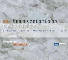 Ensemble Recherche - Renaissance Transcriptions, CD