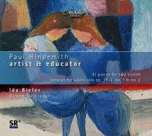 Paul Hindemith (1895-1963): 41 Stücke für 2 Violinen, CD