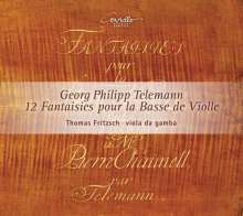 Georg Philipp Telemann (1681-1767): 12 Fantaisies pour la Basse de Violle (Hamburg 1735), CD