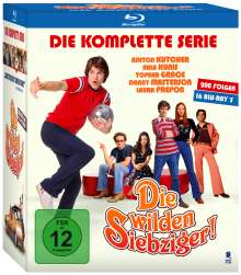 Die wilden Siebziger (Komplette Serie) (Blu-ray), 16 Blu-ray Discs