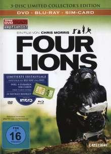 Four Lions (Blu-ray), 2 Blu-ray Discs