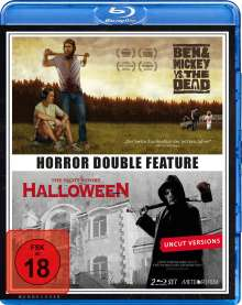 Horror Double Feature: Ben & Mickey vs. The Dead / The Night Before Halloween (Blu-ray), 2 Blu-ray Discs