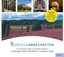 Orgellandschaften Vol.1, CD