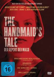 The Handmaid's Tale Staffel 1, 4 DVDs