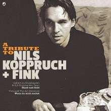 """Gisbert zu Knyphausen & Kid Kopphausen Band / Torpus & The Art Directors: A Tribute To Nils Koppruch + Fink: Staub und Gold / Wenn du mich suchst (Limited Edition) (7"""" + CD), Single 7"""""""