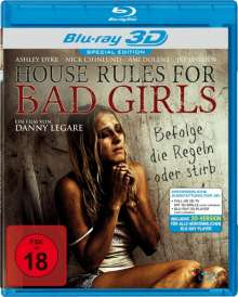 House Rules For Bad Girls (3D Blu-ray), Blu-ray Disc