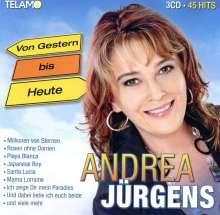 Andrea Jürgens: Von Gestern bis Heute, 3 CDs