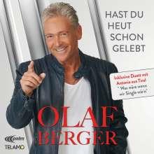 Olaf Berger: Hast du heut schon gelebt, CD
