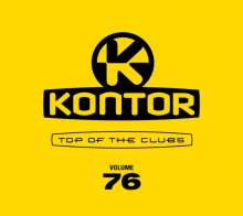 Kontor Top Of The Clubs Vol. 76, 4 CDs