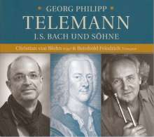 Reinhold Friedrich & Christian von Blohn - Telemann, J. S. Bach und Söhne, CD