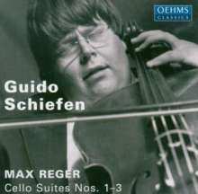 Max Reger (1873-1916): Suiten für Cello solo op.131c Nr.1-3, CD