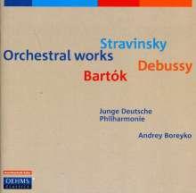 Junge Deutsche Philharmonie - Orchesterwerke, CD