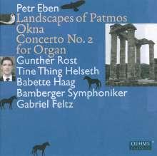 Petr Eben (1929-2007): Landscape of Patmos, CD