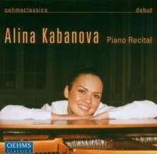 Alina Kabanova - Piano Recital, CD