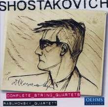 Dimitri Schostakowitsch (1906-1975): Streichquartette Nr.1-15, 5 CDs